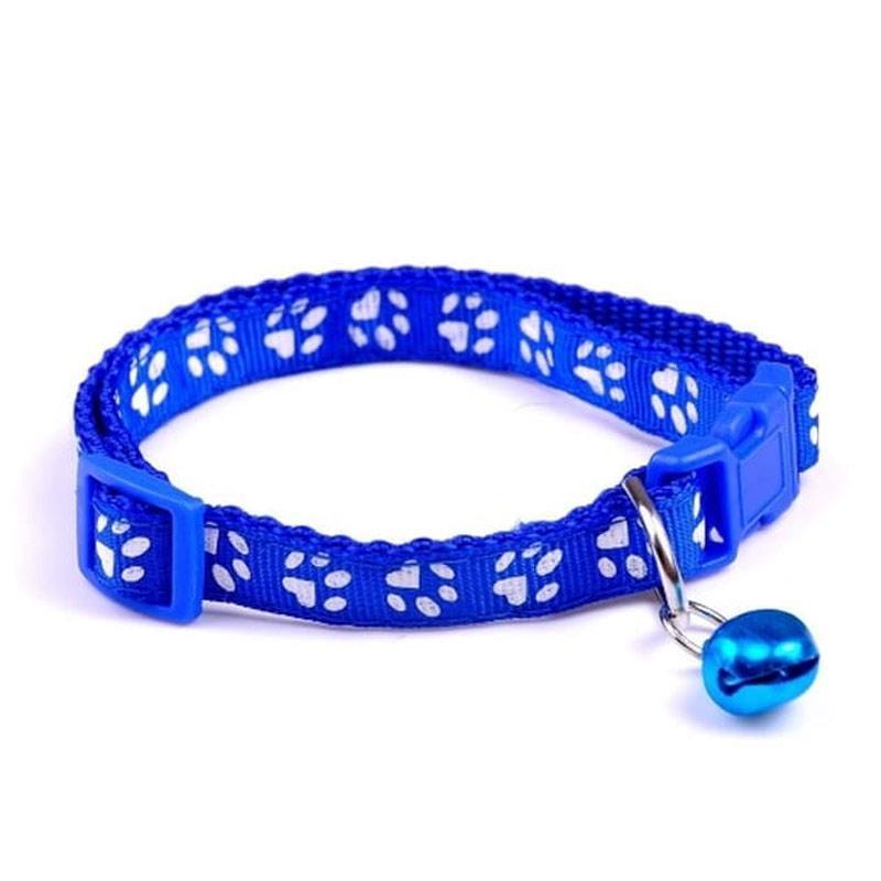 kalung kucing kalung anjing pet collar motif jejak kaki 1