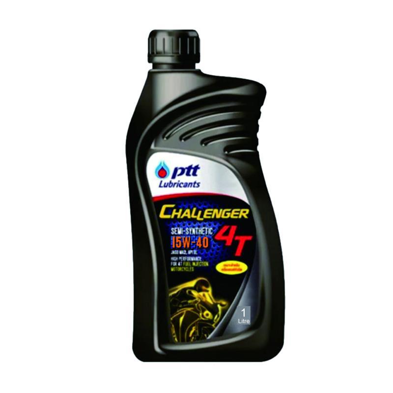 PTT Lubricants Challenger 4T 15W50 JASO MA2 SL Oli Motor