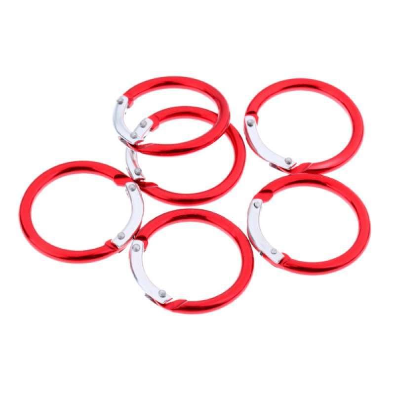 Jual Oem Circle Round Carabiner Camping Spring Snap Clip Hook Keychain Key Ring 6 Pcs Online November 2020 Blibli Com