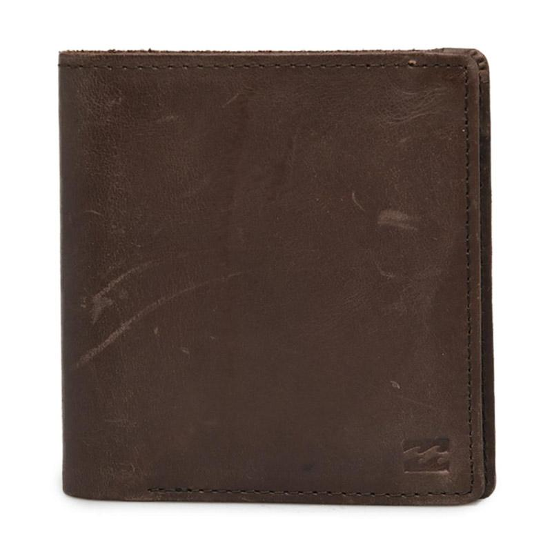 Billabong Gaviotas Leather Dompet Pria Brown MAWTTBGL BRO