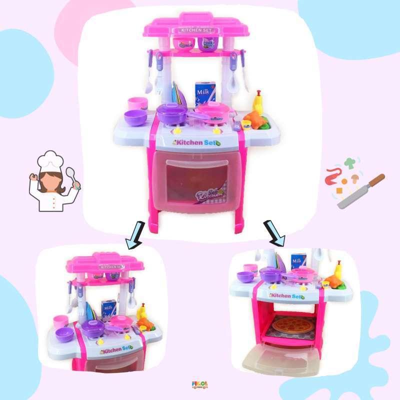 Jual Figoltoys 666 165 Masak Masakan Kitchen Set Cartoon Mainan Anak Online Oktober 2020 Blibli Com