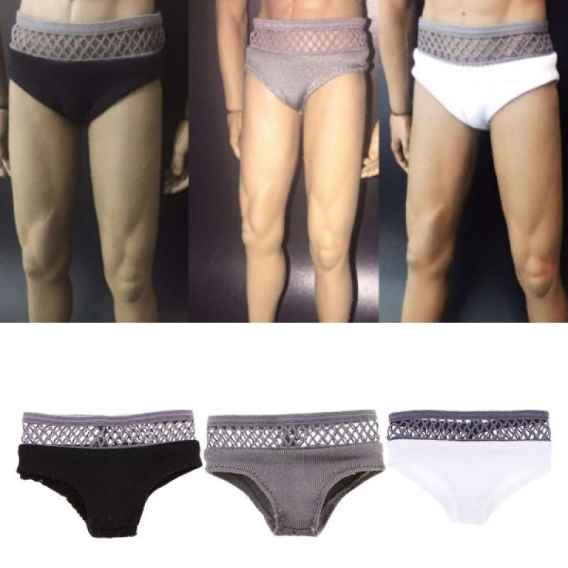 "1//6 Men/'s Underpants Briefs 3 Pieces for 12/"" Hot Toys Male Character Figures"