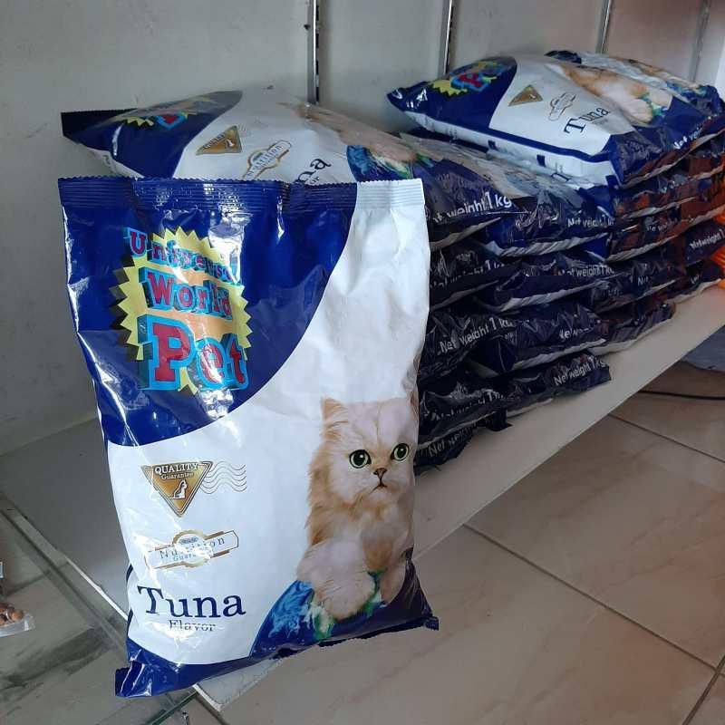 Makanan Kucing Universal World Pet Tuna 1 kg
