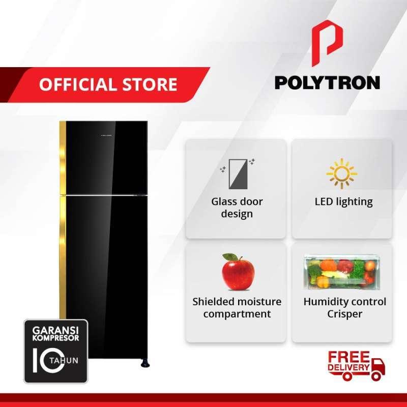 POLYTRON Belleza 3 Inverter 2 Doors Refrigerator