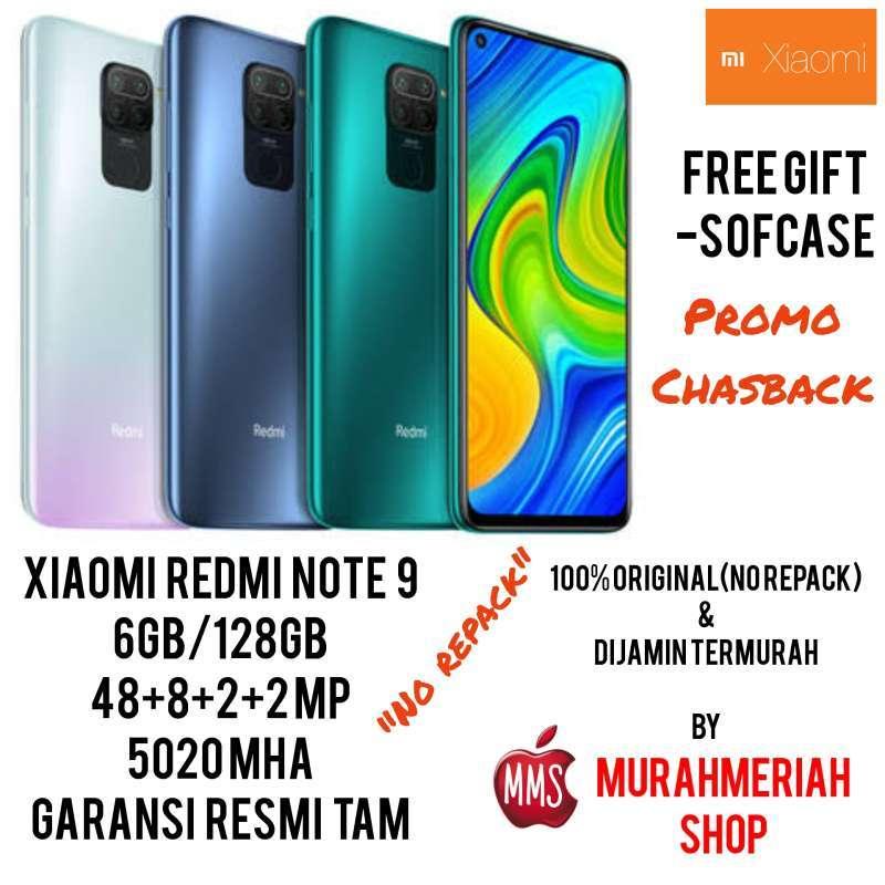 harga Xiaomi Redmi Note 9 Smartphone [6GB/ 128GB] Garansi Resmi TAM Blibli.com
