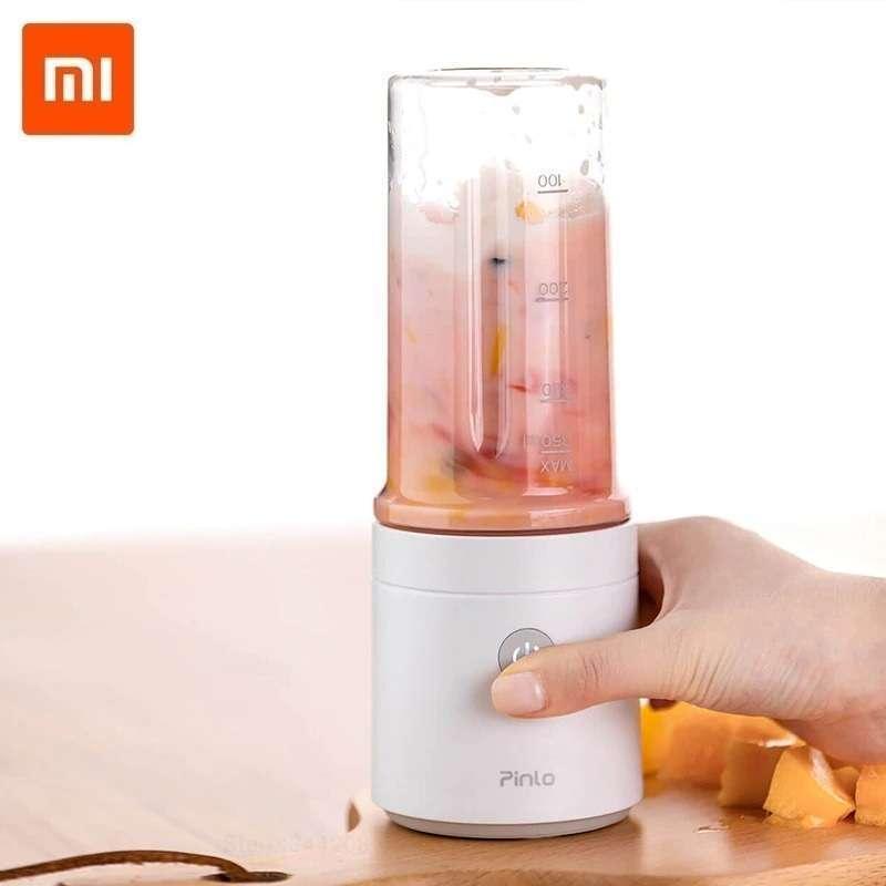 Xiaomi Pinlo PL B007W3W Portable Blender Juicer Cup Rechargeable Hand Blender Jus Buah Serbaguna