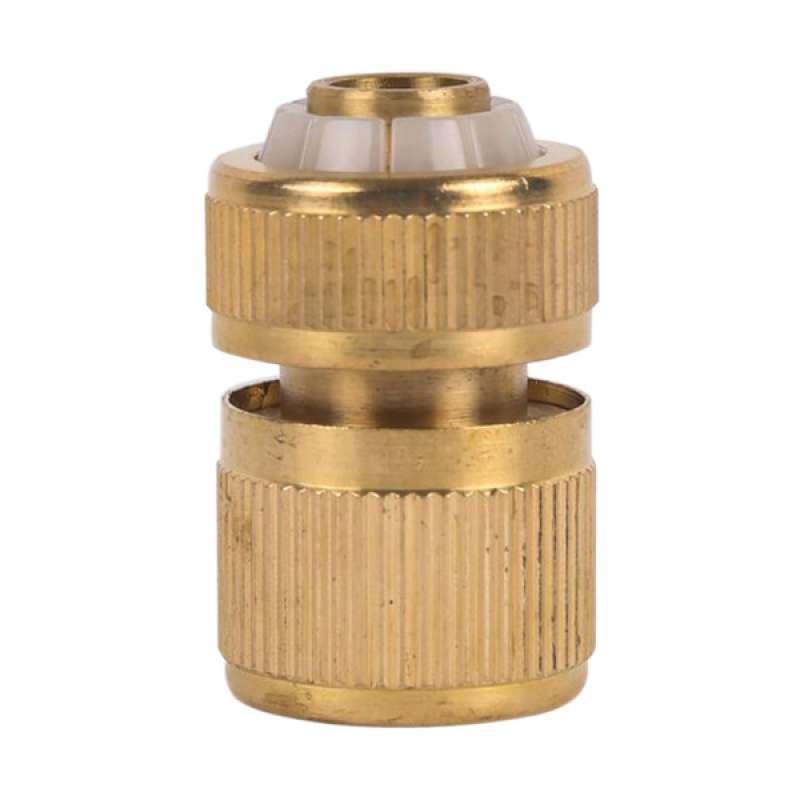 Jual 1 2inch Garden Water Hose Pipe Connector Accessories Watering Quick Brass Online November 2020 Blibli Com