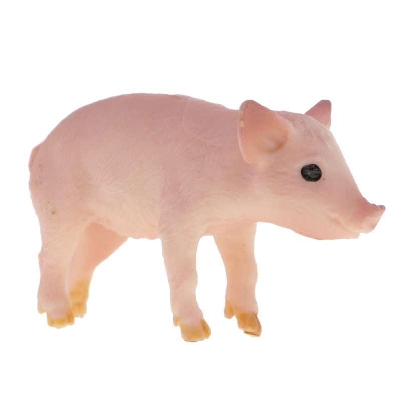 Jual Environmental Pvc Realistic Zoo Figures Jungle Farm Animals Sow Pig Figurine Kids Toy Party Bag Favor Online September 2020 Blibli Com