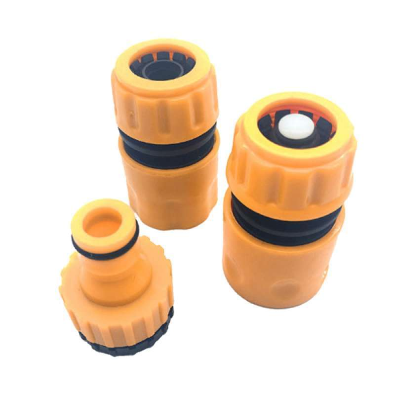 Jual 3pc Garden Water Hose Pipe Tap Connector Connection Fitting Adapter Supply Online November 2020 Blibli Com