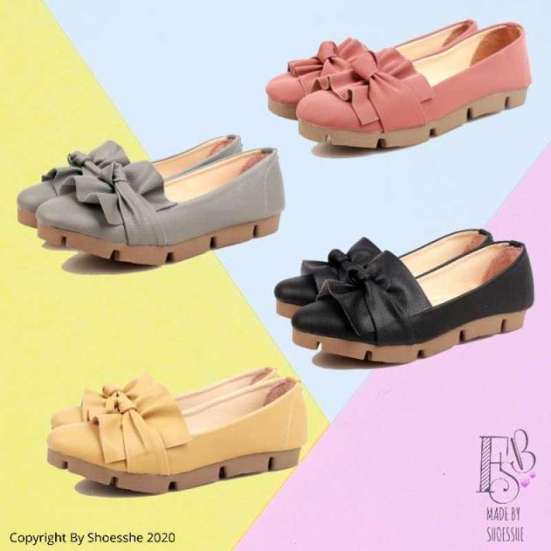 Jual Fsb - Sepatu Flat Shoes Sol Tebal