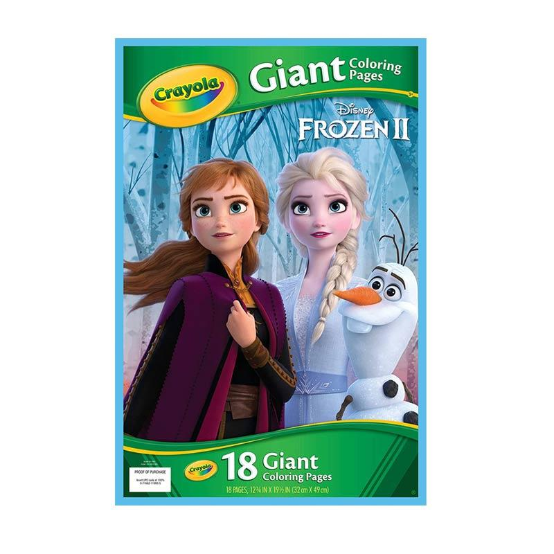 Jual Crayola Giant Coloring Pages Frozen 2 41993 Online April 2021 Blibli