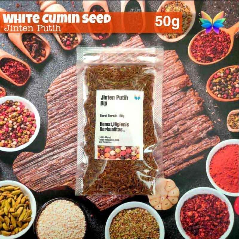 Jual Wwr Cumin Seed Biji Jinten Putih 50g Online November 2020 Blibli
