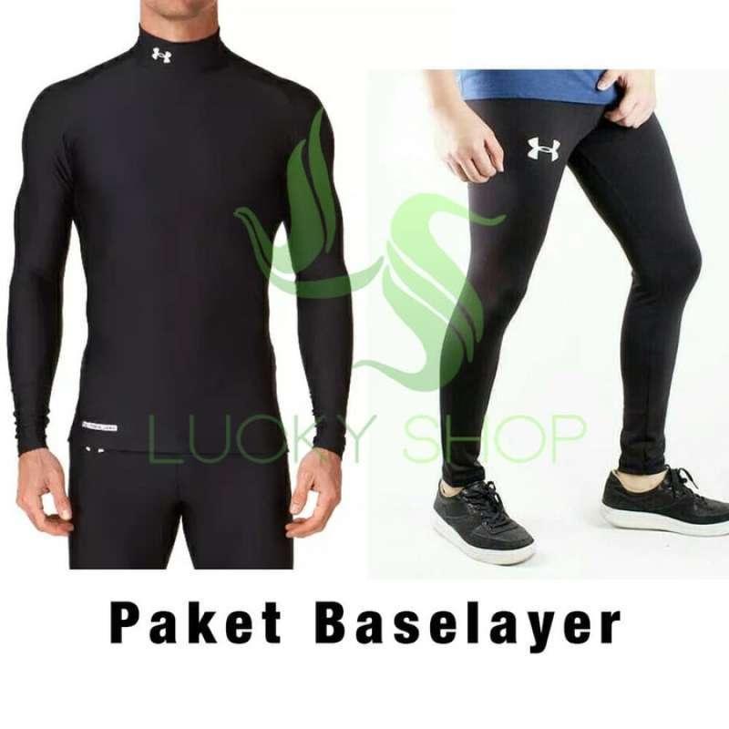 Jual Promo Baju Gym Fitness Celana Baselayer Manset Legging Pria Uaa Online Oktober 2020 Blibli Com