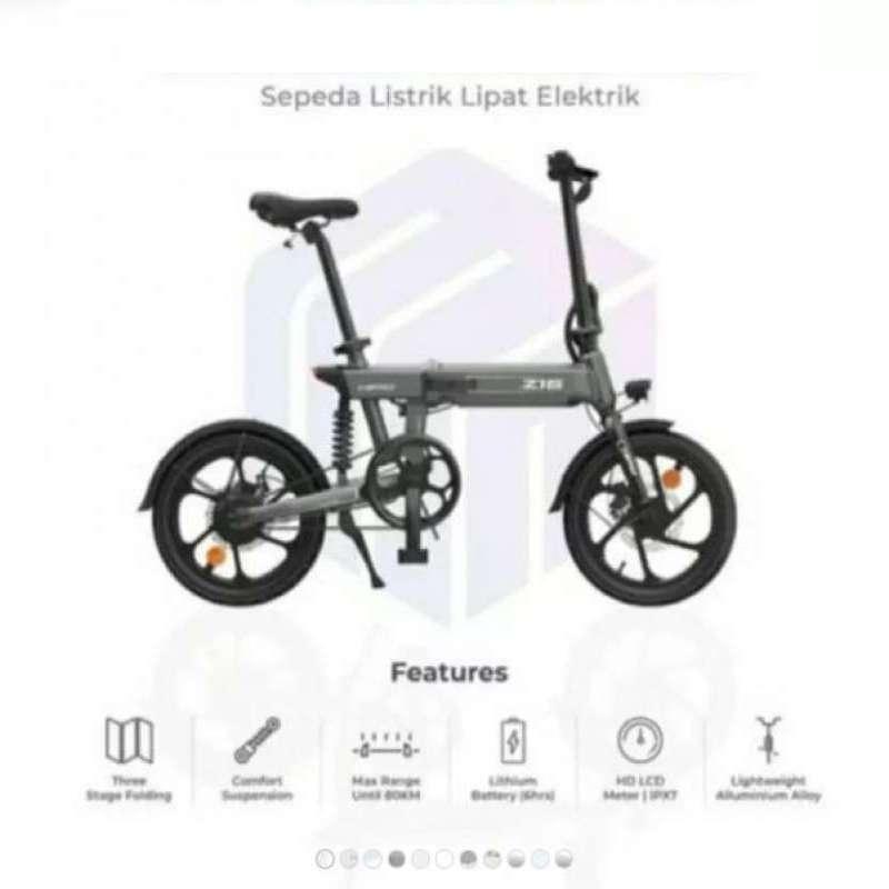 HIMO Z16 Sepeda Lipat Elektrik Smart Bicycle 36V250W 80KM