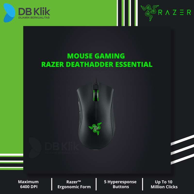 Mouse Gaming RAZER DeathAdder Essential Wired 6400 DPI