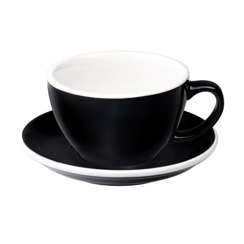 Loveramics Egg Cafe Latte Cup - Black [300 mL]