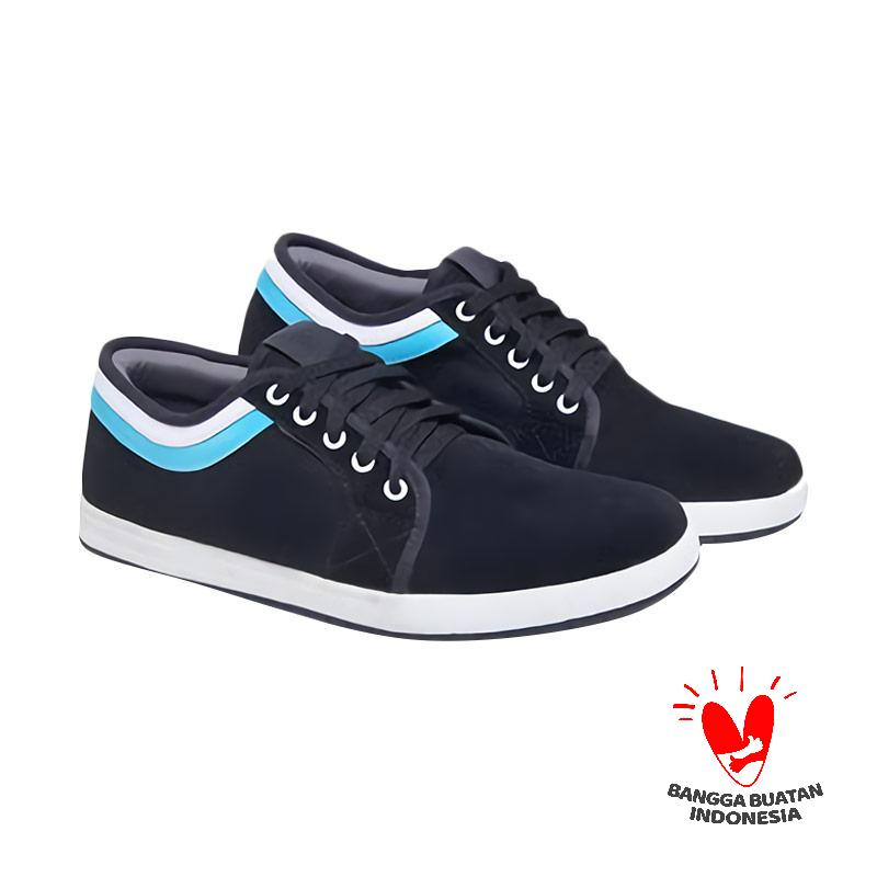 Spiccato SP 560.02 Casual Sepatu Pria - Hitam