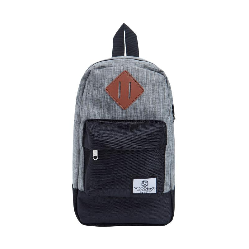 Woodbags S4 Original Shoulder Bag - Grey