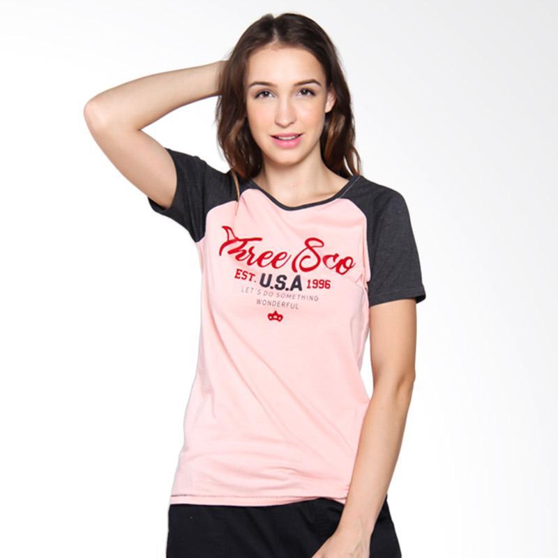 Rabu Cantik - 3 Second Ladies Tshirt Wanita - Grey [106031722]