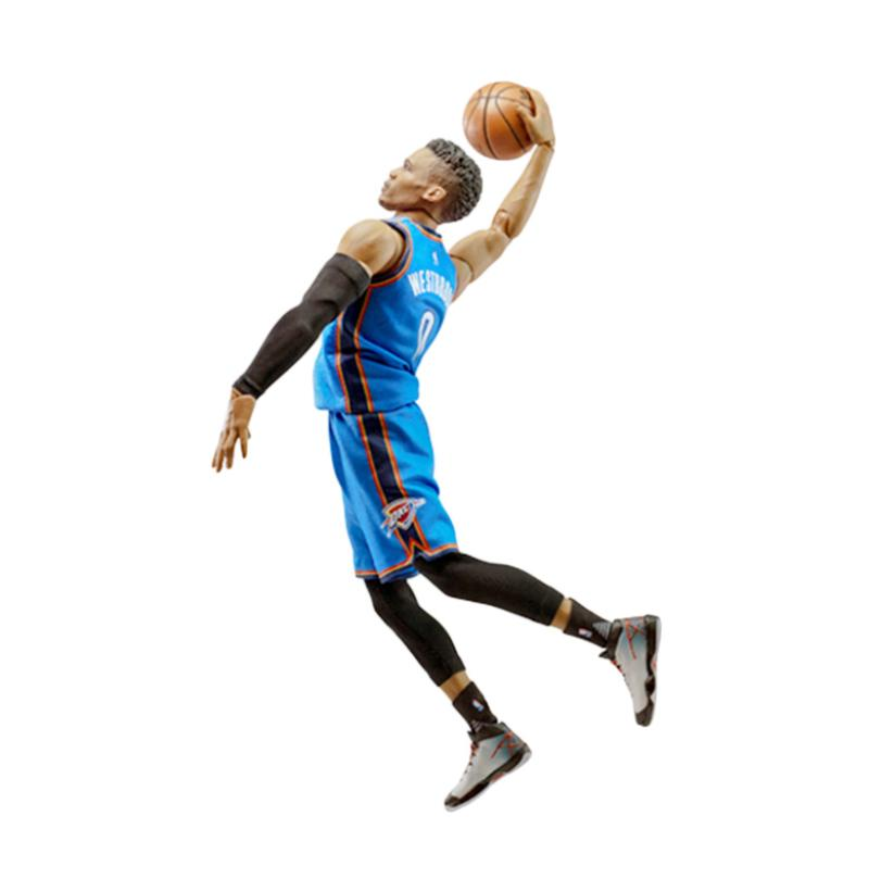 Enterbay NBA 1-9 Russell Westbrook MM-1203 Action Figure
