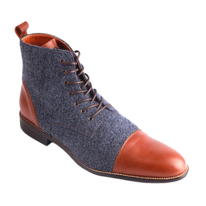 Ftale Footwear Fabrizio Mens Shoes - Navy