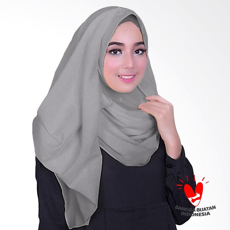 Milyarda Hijab Fusia Jilbab Instant - Grey