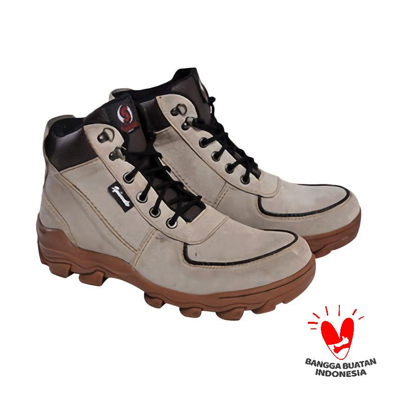 Spiccato SP 551.04 Boots Sepatu Pria - Grey