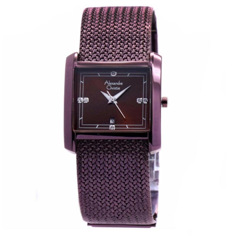 Alexandre Christie 2564 Jam Tangan Wanita - Purple