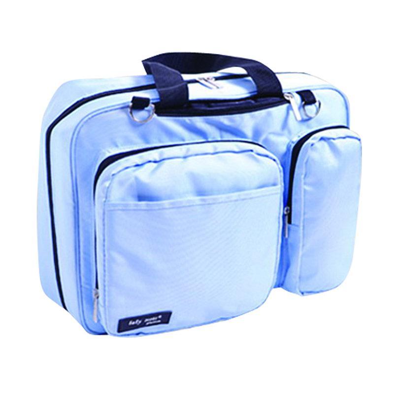 Baby Scots 18 Platinum Mommy Diaper Bag - Biru
