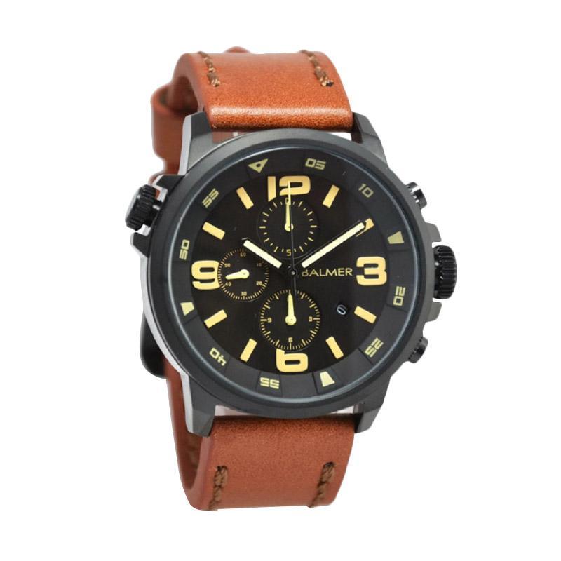 Balmer B.7903MB Jam Tangan Pria - Light Brown Black