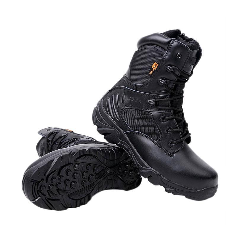 harga Delta Sepatu Pria Tactical Outdoor 8 Inch - Black Blibli.com 3c1f3fe97c