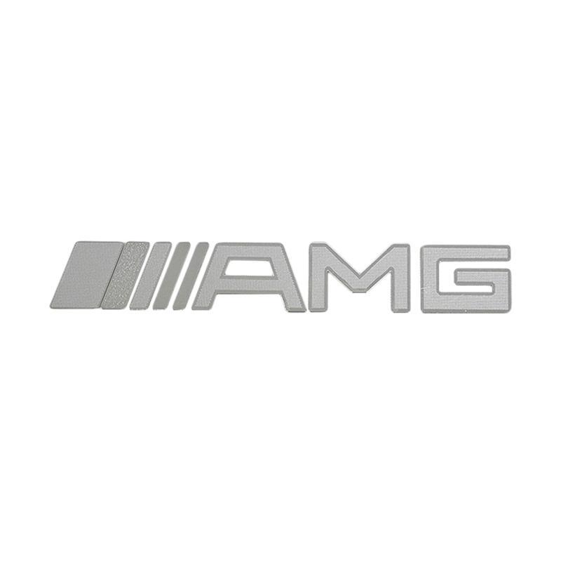 SIV Logo dan Tulisan STI AMG Sticker Mobil