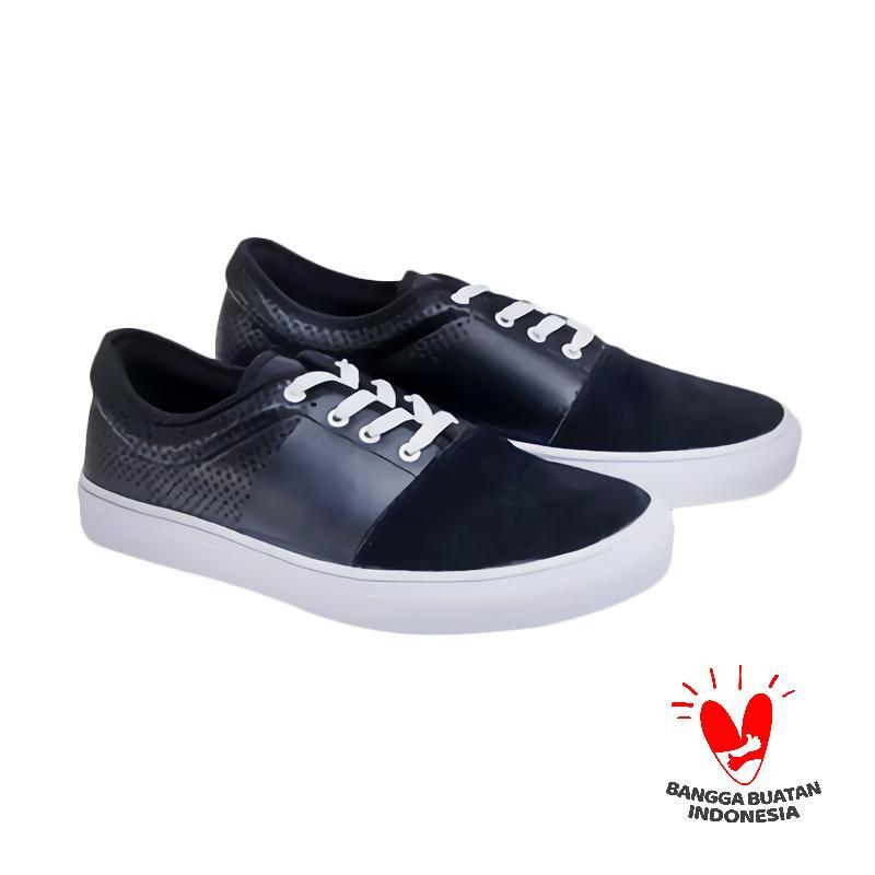 Spiccato SP 560.04 Casual Sepatu Pria - Hitam