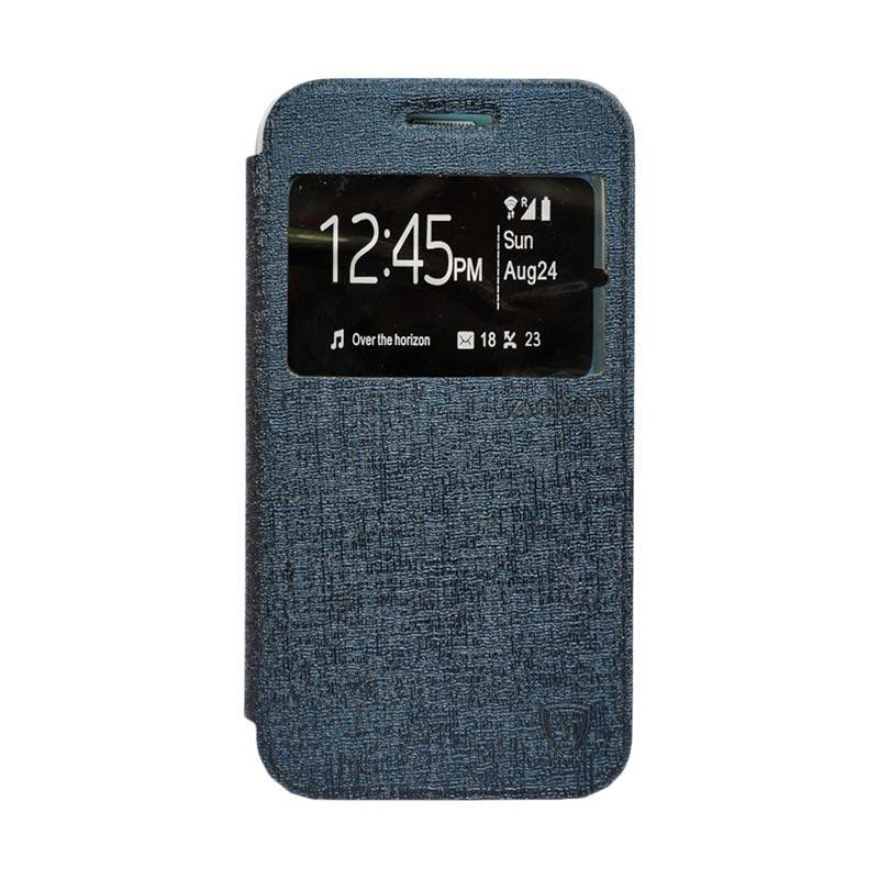 ZAGBOX Flip Cover Casing for iPhone 7 4.7 - Biru Dongker