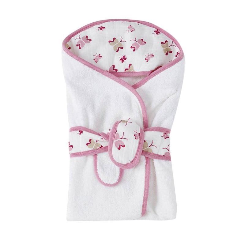 Aden Anais Princess Posie Baby Bath Wrap