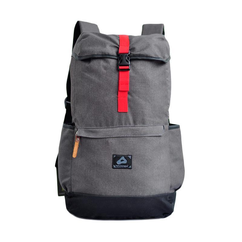 harga Amooba Backpack Serut Texas Tas Ransel - Abu Blibli.com