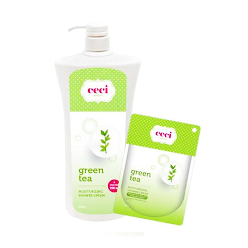 Beau Ceci Moisturizing Cream Green Tea [800 mL + 200 mL]