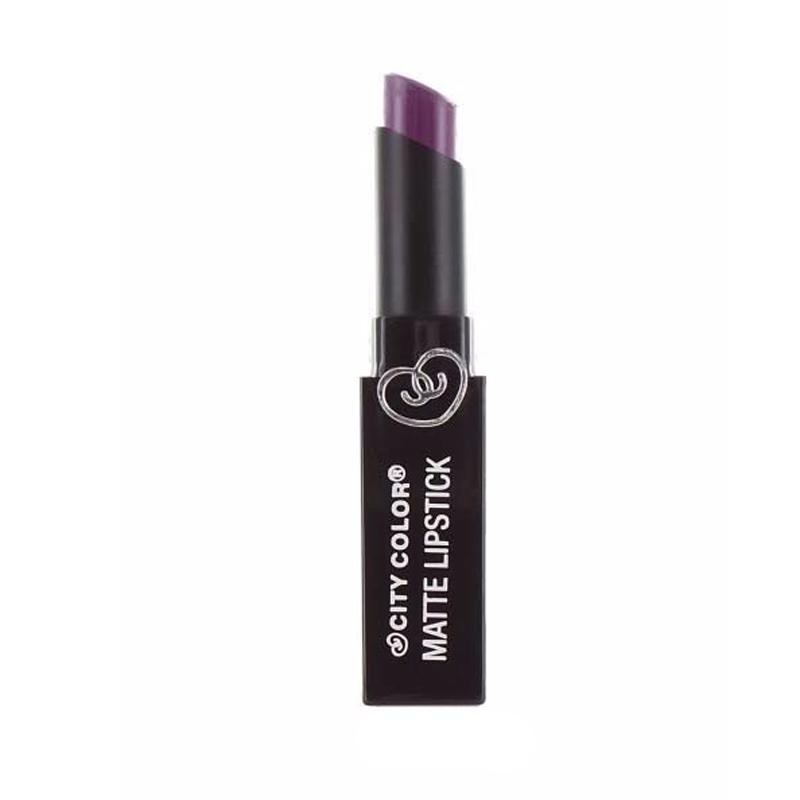 City Color Matte Lipstick - Violet