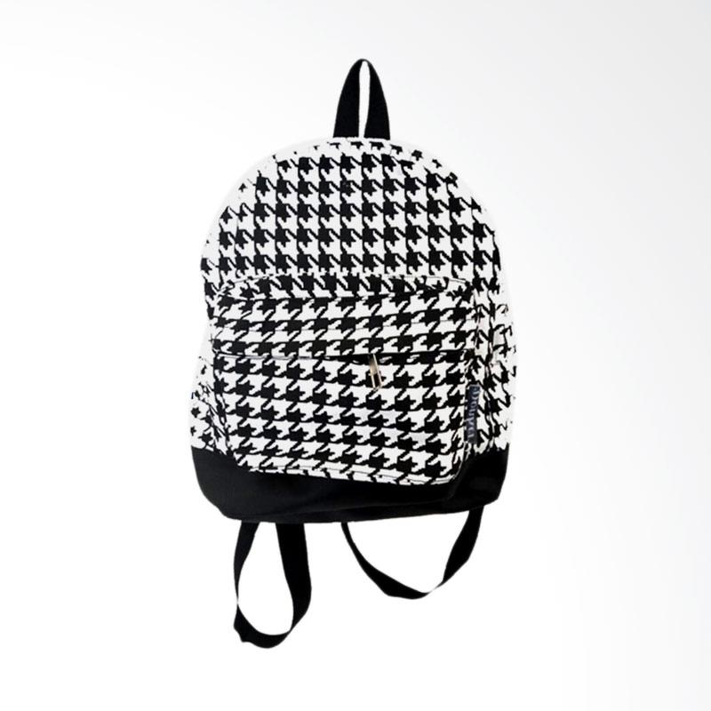 Donker Canvas Mini Houndstooth Backpack