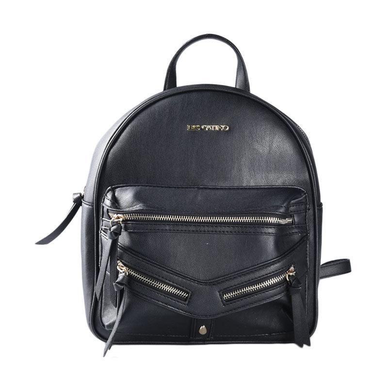 Les Catino Marciani Backpack Tas Wanita - Black
