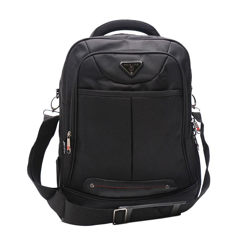 harga Polo Line 8057 Tas Ransel Laptop 3 In 1 - Black Blibli.com