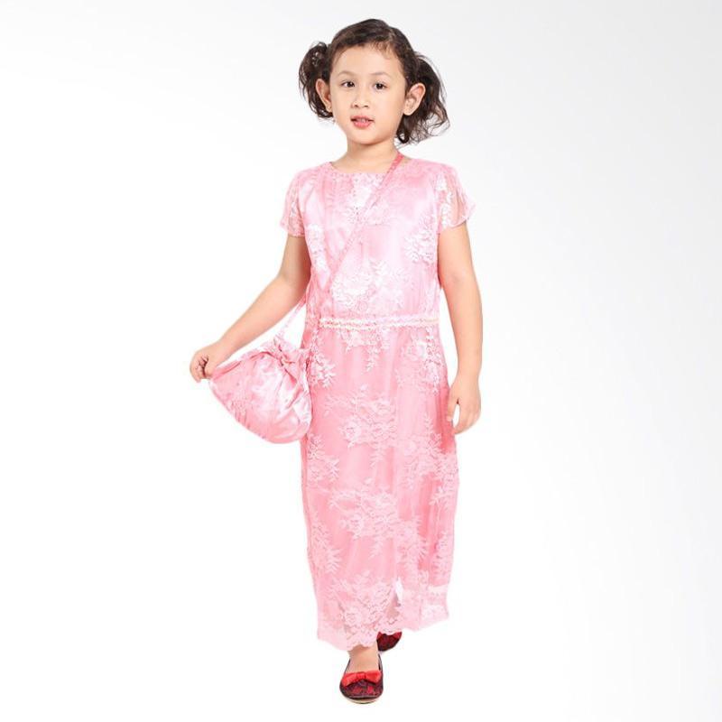 Pretty Girl 2JILL Dress Anak - Peach