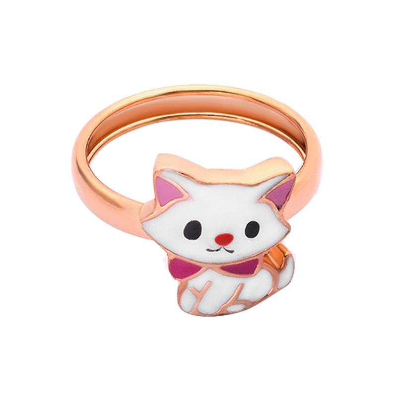 Kitty Gold Kids Ring - Cincin Emas Anak Kadar 37,5-WHIZLIZ