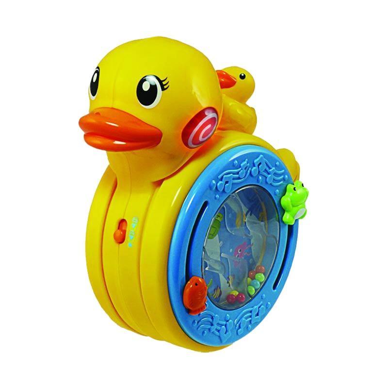 Winfun Sights 'n Sounds Rolling Duck Mainan Bayi