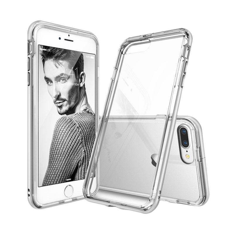 Ringke Frame Casing for iPhone 7 Plus - Ice Silver