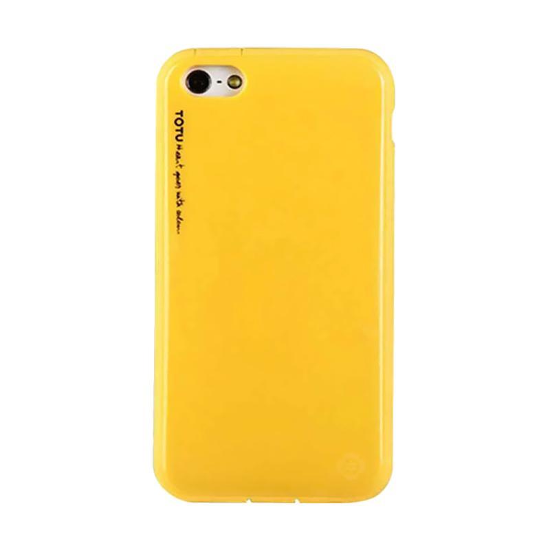 Totu Ice-Cream Casing for iPhone 5C - Yellow
