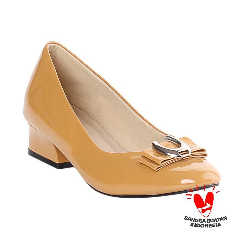 Blackkelly Evianna LDD 515 Sepatu Formal Wanita - Brown Yellow