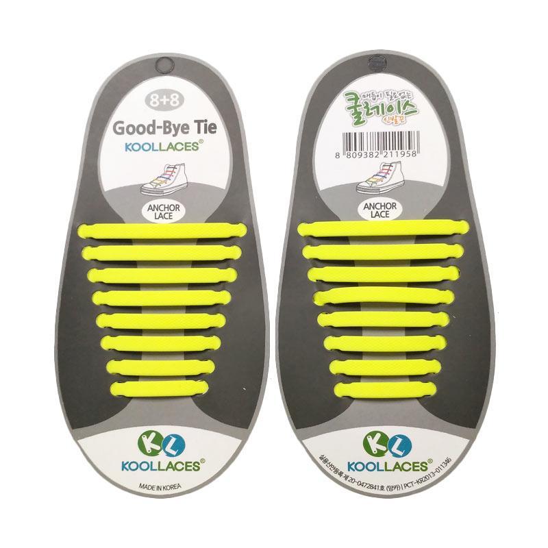 Koollaces Dewasa Tali Sepatu - Yellow