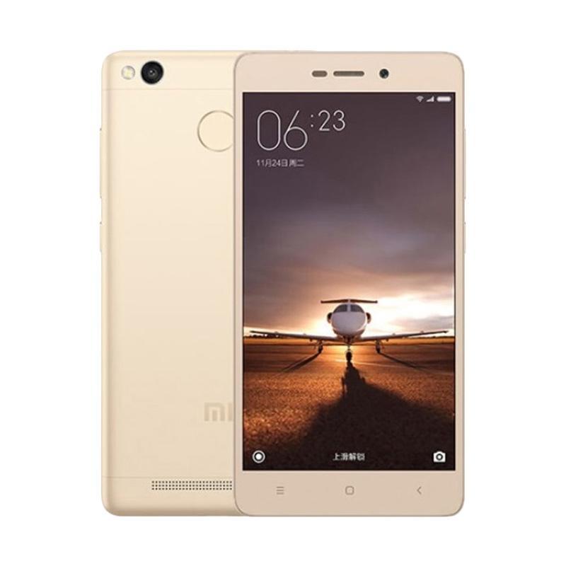 Xiaomi Redmi 3S Pro Smartphone - Gold [32GB/ 3GB] garasi resmi TAM 1 tahun
