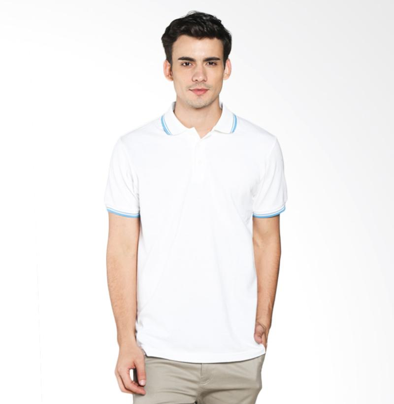 A&D Fashion MS 1716-589 Polo Shirt Pria - White